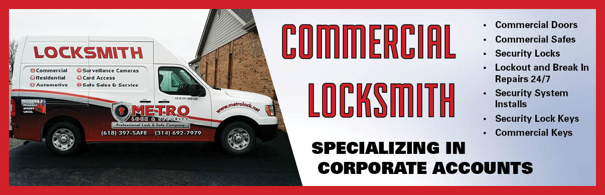 Commercial Locksmith in Illinois-Metro Lock and Security